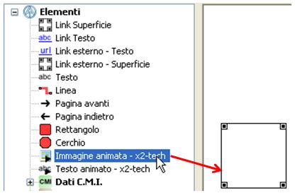 Posizionamento dell immagine animata nell area di disegno e adattamento  delle dimensioni trascinando gli angoli oppure tramite la scorciatoia di  tastiera ... f25e7381142